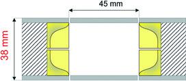 Feder-Muschelgriffe NO-HA NS 205