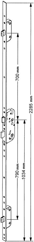 Sicherheits-Einsteckverschlüsse GU-SECURY Automatic