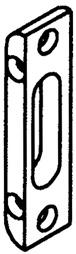 Bolzen- und Fallenriegel-Schliessplatten GU