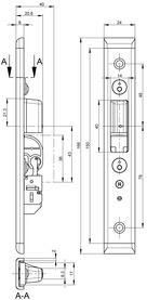 U-Schliessplatten GU-SECURY