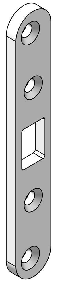 Riegel-Flachschliessbleche OK-LINE