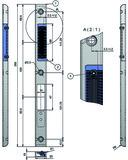 Profil-Einfrässchliessblech-Set MSL ProfiFlex BV-24421