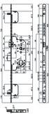Sicherheits-Mehrpunkt-Verriegelungen MSL PANIK TRIBLOC 1859 PBa-ZF