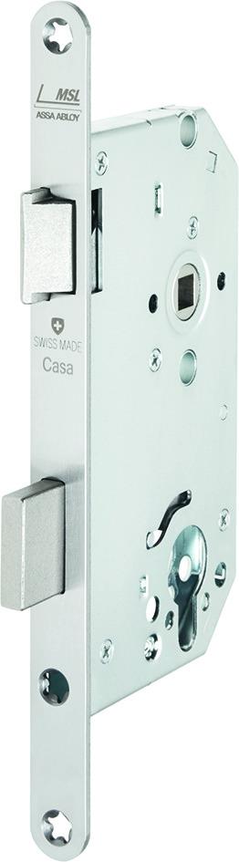 Panik-Sicherheits-Einsteckschlösser MSL CASA-Alpha 1716 PDa