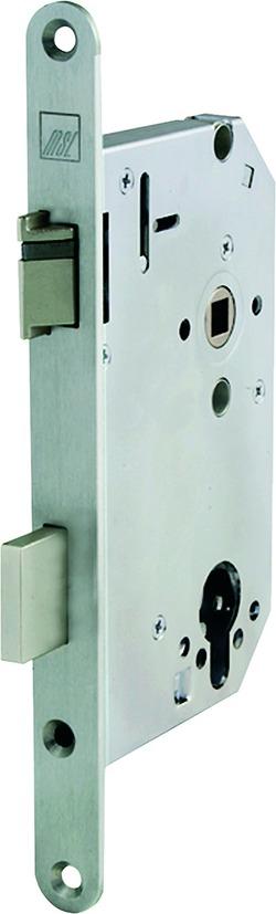 Panik-Sicherheits-Einsteckschlösser MSL CASA-Alpha 1719 PBe-SV