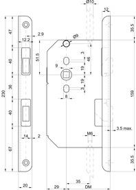Gegenbasculen MSL CASA-Alpha 1713 mit Winkelstulp