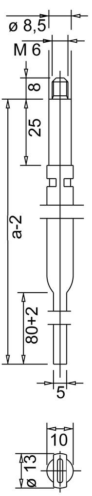 Treibriegelstangen BKS 9006