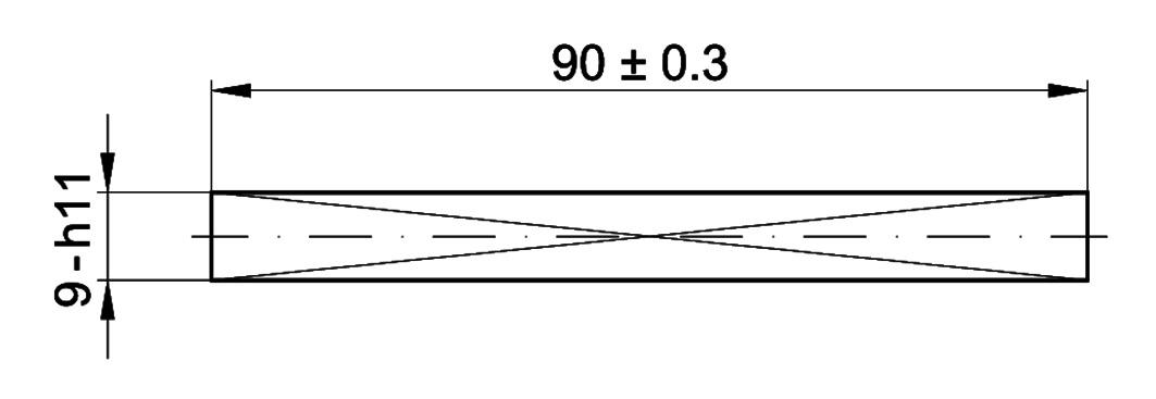 Vierkantdorn MSL 5961