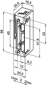 Elektro-Türöffner eff-eff 118 F.13 ProFix 2