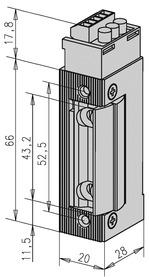 Feuerschutz Elektro-Türöffner eff-eff 143 R FaFix