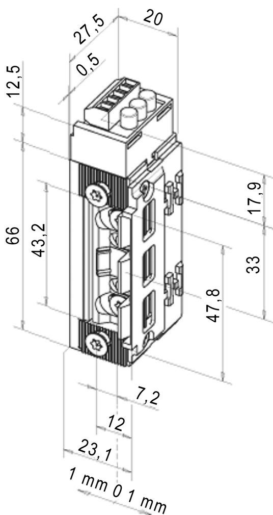Feuerschutz Elektro-Türöffner eff-eff 143R ProFix 2