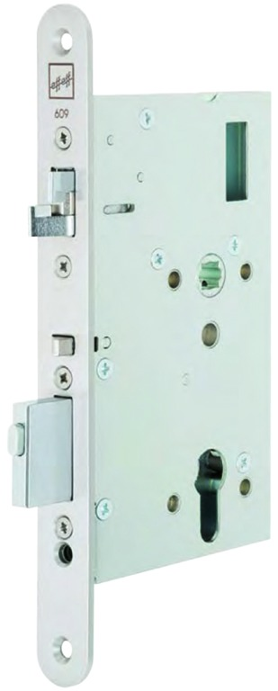 Fluchttürschloss mit elektrischem Türöffner MEDIATOR 609