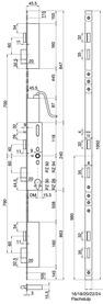 Mehrpunkt-Verriegelungen MSL FlipLock drive 25544 PE-SV