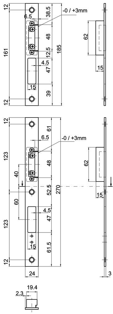 Flachschliessbleche MSL BV-24421 VariFlex