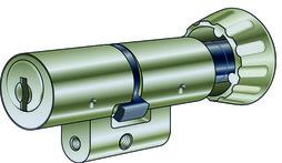 Drehknopfzylinder Kaba 8 Typ 1519 A
