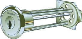 Aussenzylinder Kaba Typ 1007