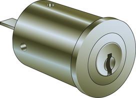 Schalterzylinder Kaba star Typ 1262 F