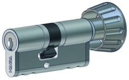 Profil-Drehknopfzylinder Kaba 20 Typ M1419 A
