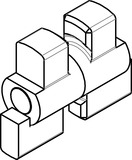 Kupplung Standard Kaba Modular
