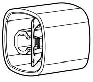 Drehknopf Design Kaba Modular