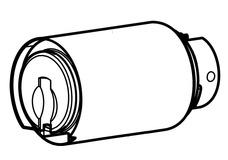 Zylinder-Insert Kaba star Modular Typ 1451A