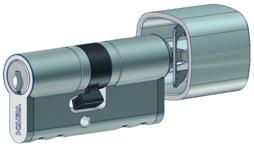 Profil-Drehknopfzylinder Kaba star M1419 A