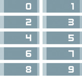 Nummernkarten-Set