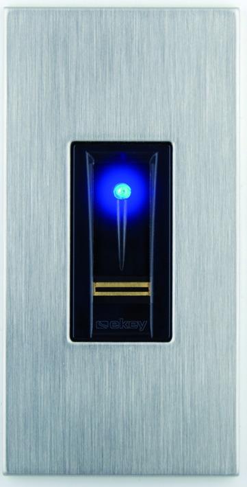 Biometrisches Fingerprintsystem ekey für MSL FlipLock
