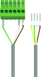 Controller-Motorschloss-Kabel EKEY dLine Glutz