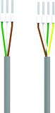 Controller-Motorschloss-Kabel EKEY dLine MSL