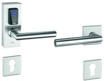 E-Beschlag GLUTZ eAccess breit Stahl Public 80525 kurz