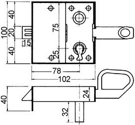 Tenntorschlösser WEBI 206