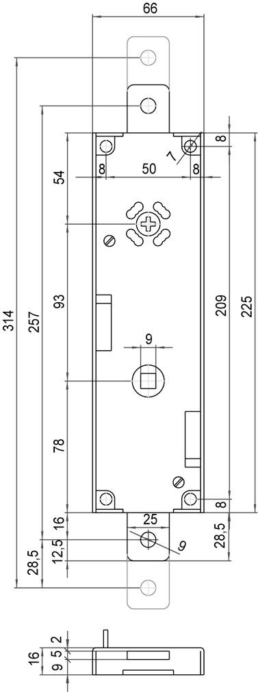Garagentorschlösser SCHÄNIS 4101