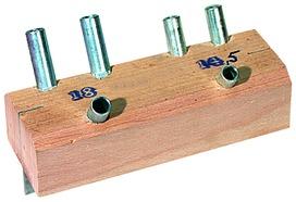 Bohrlehren für Einbohrbänder ANUBA Modell B + C (CH-Norm)