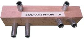 Bohrlehren für Einbohrbänder ANUBA Modell C (CH-Norm)