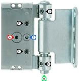 Haustürbänder ANUBA Duplex 320-3D