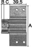 Anschraubtaschen SIMONSWERK V 3610
