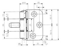 Stahlzargenbänder OK-LINE