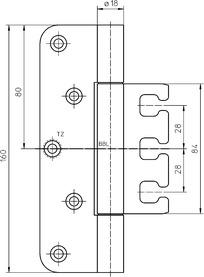 Objektbänder SIMONSWERK VARIANT VX 7729/160 18-3