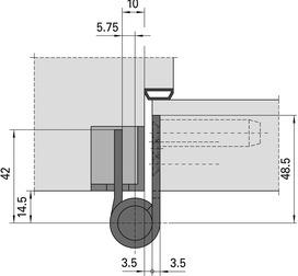 Objektbänder SIMONSWERK VARIANT VX 7729