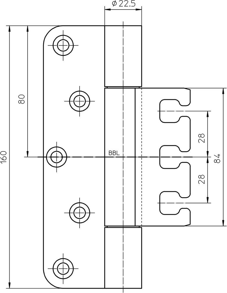 Objektbänder SIMONSWERK VARIANT VX 7749/160-4 Care