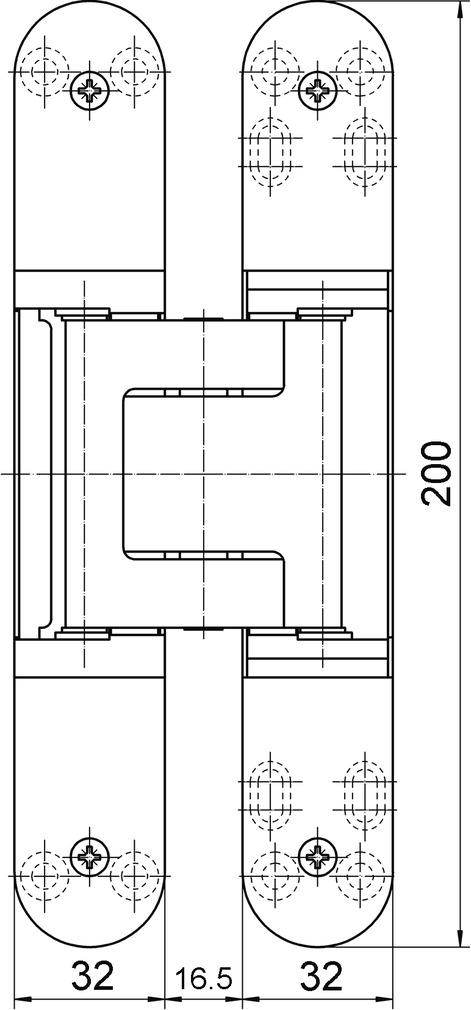 Objektbänder SIMONSWERK TECTUS TE 540 3D