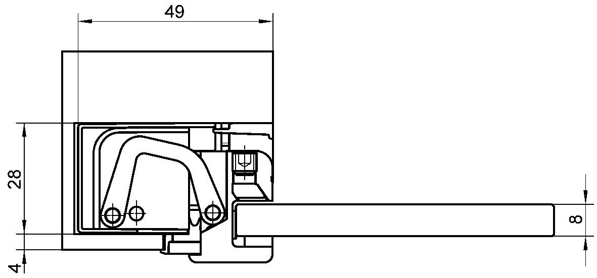 Objektbänder SIMONSWERK TECTUS Glas TEG 310 2D