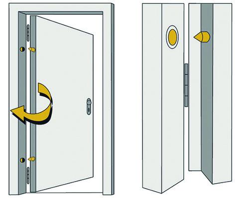 Türaushebe-Sicherungen ABUS