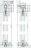 Schiebetürbeschläge HAWA Junior 100 Z / Pocket