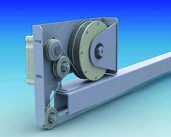 Schliessvorrichtungen für Schiebetüren DICTATOR Dictamat 50 KW