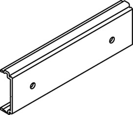 Clip-Profile EKU für Holzblende oder Clip-Blende