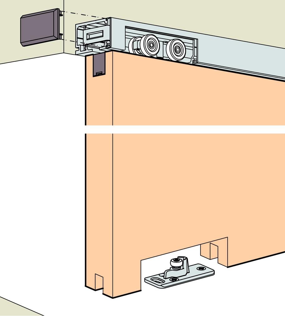 Schiebetürbeschläge EKU-PORTA 60/100 HM/HMD
