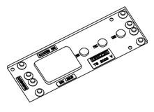Montageplatte zu Türschliesser GEZE TS 2000 V