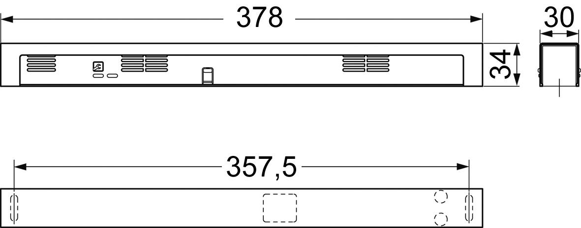 Rauchmeldezentrale DORMA RMZ im Contur Design